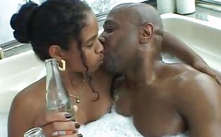 Black wife facial